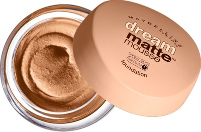 Maybelline Dream Matte Mousse Foundation Sandy Beige, 18gm