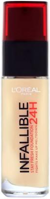 Loreal Paris Infallible 24Hr Liquid Foundation, Vanilla 120, 30Ml
