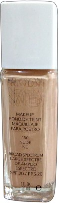Revlon Nearly Naked Foundation, Nude, 150, 30 ml