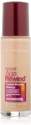 Maybelline Instant Age Rewind Radiant Firming Makeup Foundation(Creamy Natural 200)