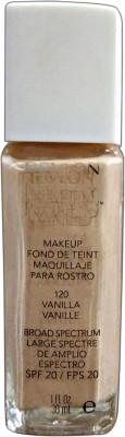 Revlon Nearly Naked Foundation, Vanilla-120, 30 ml
