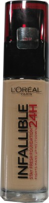 Loreal Paris Infallible 24H Liquid Foundation, Rose Beige 145, 30 ml
