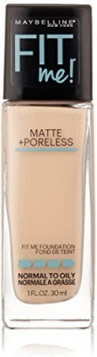 Maybelline Fit Me Matte Plus Poreless Foundation Makeup Foundation(Natural Ivory, 29.5735 ml)