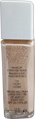 Revlon Nearly Naked Foundation, Ivory-110, 30 ml