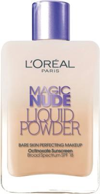 L'Oreal Paris Magic Nude Liquid Powder Bare Skin Perfecting Make up (320) Foundation(Beige)