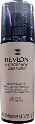 Revlon Photoready Airbrush Mousse Foundation, Shell-020, 39.7 G