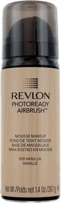 Revlon Photoready Airbrush Mousse Foundation, Vanilla-010, 39.7 G