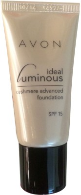 Avon Ideal Luminous Cashmere Advanced Foundation For Women Beige, 25 Gm