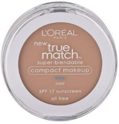L'Oreal Paris True Match Super-Blendable Compact Makeup, Spf 17 Foundation(Classic Beige)