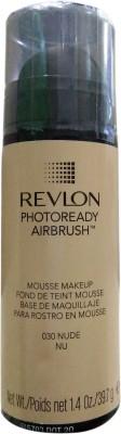 Revlon Photoready Airbrush Mousse Foundation, Nude-030, 39.7 G