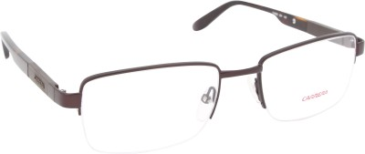 Carrera Half Rim Rectangle Frame(53 mm) at flipkart