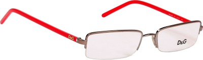 Dolce & Gabbana Half Rim Rectangle Frame(51 mm) at flipkart