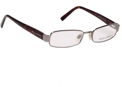 Dolce & Gabbana Full Rim Rectangle Frame(50 mm) at flipkart