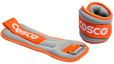 Cosco Aerobic Orange Ankle Weight(1 kg)