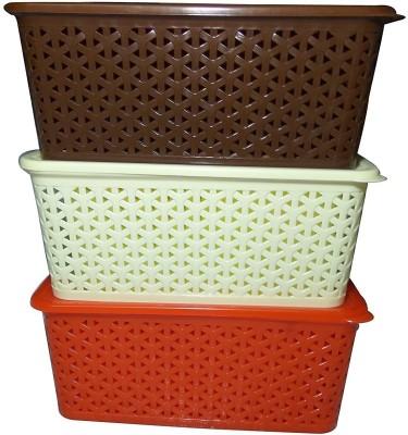 Fair Food Fairfood 3 Basket Set PP  Polypropylene  Fruit   Vegetable Basket