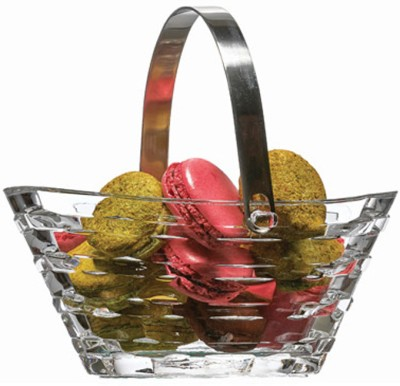 Pasabahce Glass Fruit & Vegetable Basket(Clear) at flipkart