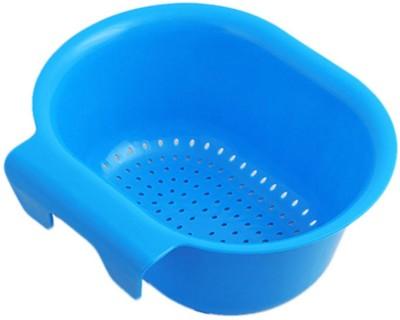 Evana Creative home kitchen sink basket Plastic Fruit & Vegetable Basket(Blue)  available at flipkart for Rs.179