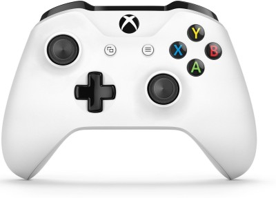 Microsoft Wireless Controller Bt Wht  Gamepad(White, For Xbox One)
