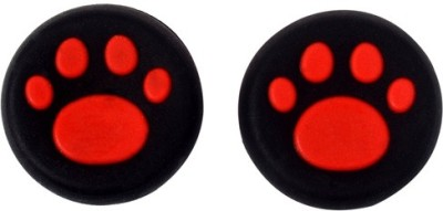 TCOS Tech Thumb Grips Anti Slip Silicone Cap Cover  Gaming Accessory Kit(Red, For PS4, PS3, Xbox 360, Xbox One)  available at flipkart for Rs.199