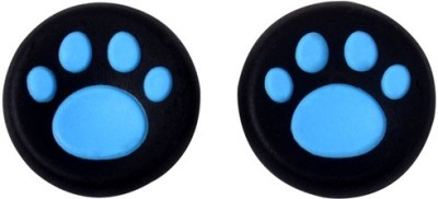 TCOS Tech Thumb Grips Anti Slip Silicone Cap Cover  Gaming Accessory Kit(Blue, For PS4, PS3, Xbox 360, Xbox One)  available at flipkart for Rs.199