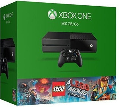 Microsoft 3967660 500 GB with Xbox One 500GB Console - The LEGO Movie Videogame Bundle(Black)  available at flipkart for Rs.33000