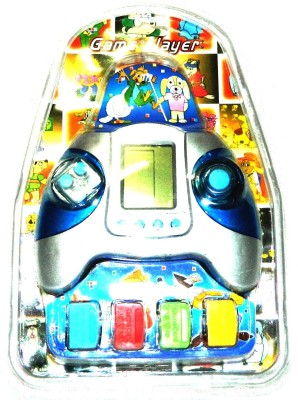 Dream Deals Game Player With Casatte 8 in 1 with Brick(Silver, Blue)