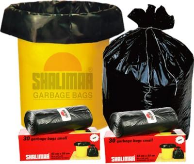 ADSUM GREEN SMP6X30GB Medium 180 BAGS L Garbage Bag(Pack of 180)