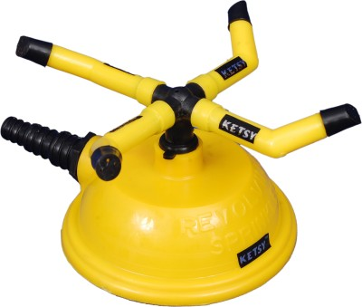 KETSY Water Sprinkler 4 Arm 0 L Hose-end Sprayer(Pack of 1) at flipkart