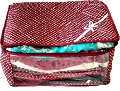 KUBER INDUSTRIES Designer Saree Cover MKU581 Maroon KUBER INDUSTRIES Garment Covers