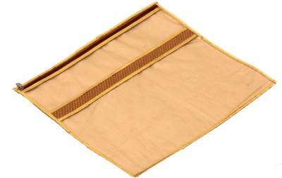 KUBER INDUSTRIES Designer Single Packing Saree Cover Set of 6 Pcs  Jute Design  KUBS57 Gold KUBER INDUSTRIES Garment Covers