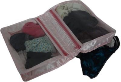 KUBER INDUSTRIES Under Garments Cover Satin Mku175 Maroon, Pink KUBER INDUSTRIES Garment Covers