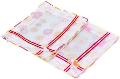 KUBER INDUSTRIES Designer Non Woven Bow Saree Cover/ Lahenga Cover Set Of 2 Pcs  6 Inches Height  KUBS62 Yellow KUBER INDUSTRIES Garment Covers