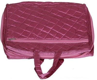 KUBER INDUSTRIES Saree Covers One Day Kit In Satin AA29 Pink KUBER INDUSTRIES Garment Covers