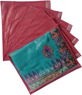Fashion Bizz Regular Saree Cover 6 Pcs Combo SC P6 Pink, Red Fashion Bizz Garment Covers