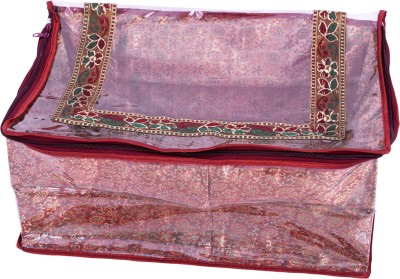 Annika Designer Saree Cover Ahsc9005 Maroon Annika Garment Covers