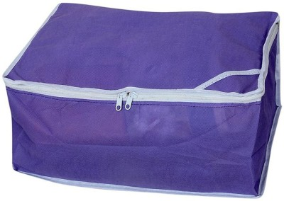 KUBER INDUSTRIES Regular Saree Cover   Upto 8 Pcs SC1 Blue KUBER INDUSTRIES Garment Covers