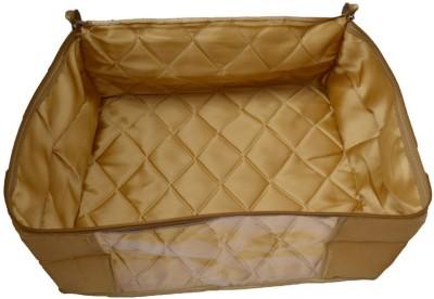 Mun Shree Designer Double Sarten 5 Saree Cover Box MS 13 Golden Mun Shree Garment Covers