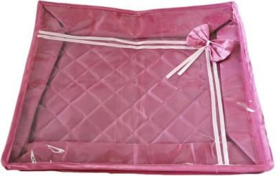 KUBER INDUSTRIES Designer Saree cover upto 15 Pcs. Mku214 Pink KUBER INDUSTRIES Garment Covers