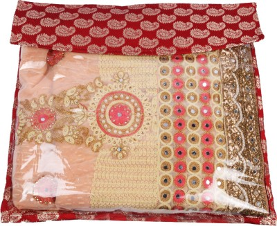 Glitter Collection Saree cover Premium Cover Cover05(Red)  available at flipkart for Rs.149