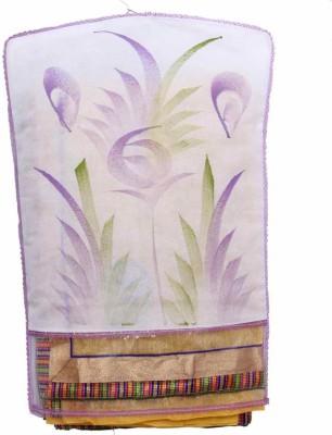 KUBER INDUSTRIES Designer Hanging Designer Saree Cover   24pcs MKU020 White KUBER INDUSTRIES Garment Covers