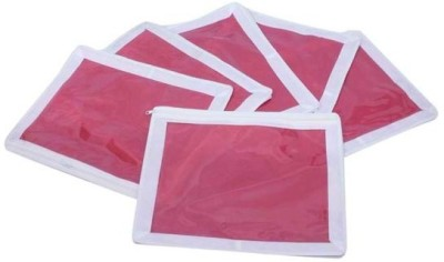 Fashion Bizz Designer Saree Cover 6 Pcs Combo SC DP Pink, White Fashion Bizz Garment Covers