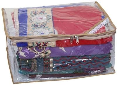 KUBER INDUSTRIES Saree Covers Full Transparent AA6 Multicolor KUBER INDUSTRIES Garment Covers