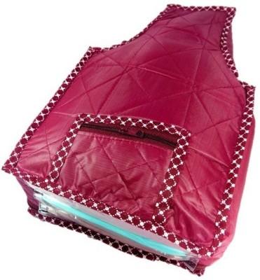 Addyz Designer Blouse Cover BC   1 Maroon Addyz Garment Covers