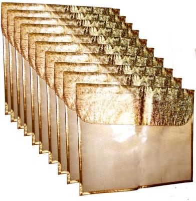 A J Creations Designer Flip G F 0330 Golden A J Creations Garment Covers