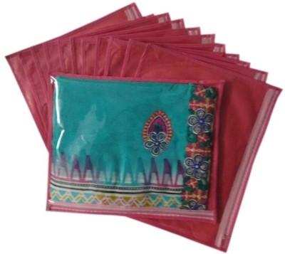 Fashion Bizz Regular Saree Cover 12 Pcs Combo SC P12 Pink Fashion Bizz Garment Covers