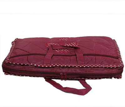 KUBER INDUSTRIES Saree Covers One Day Kit AA30 Maroon KUBER INDUSTRIES Garment Covers
