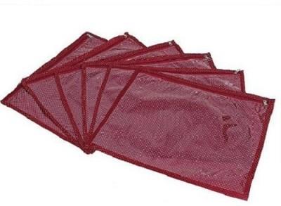 KUBER INDUSTRIES Saree Covers 6 Pcs Set AA22 Maroon KUBER INDUSTRIES Garment Covers