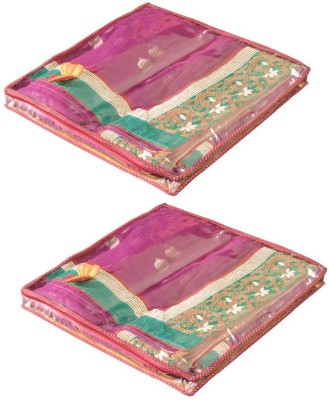 Srajanaa Saree Cover Premium / Saree Pouch   Set Of 2 SR 119 Maroon Srajanaa Garment Covers