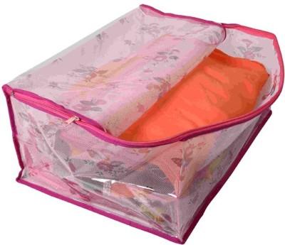 KUBER INDUSTRIES Designer Saree Cover MKU606 Pink KUBER INDUSTRIES Garment Covers