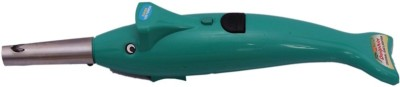 Dolphin Max Plastic Gas Lighter Green, Pack of 1 Dolphin Max Gas Lighters